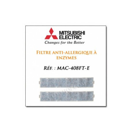 Filtro aire acondicionado purificado Mitsubishi MAC-408FT-E