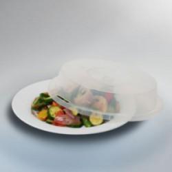 Tapa antisalpicaduras especial microondas, diámetro 27 cm.