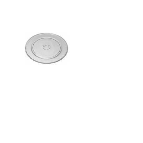 Plato giratorio de cristal. Diámetro 20cm.