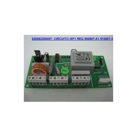 Circuito IXP1 Regulación 900807-A1 810807-3